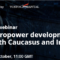 Free Webinar on Hydropower developments – South Caucasus and Iran