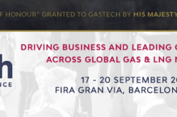 Eight months to Gastech 2018!