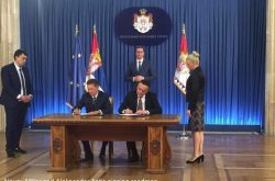 Gazprom and Serbian Ministry of Mining and Energy sign roadmap to develop Serbia's gas transmission capacities